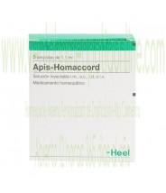 APIS HOMACCORD 5 AMPOLLAS 1,1 ML