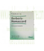 BERBERIS HOMACCORD 5 AMPOLLAS 1,1 ML