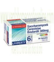 LAMBERTS Saccharomyces Cerevisiae Boulardii 300 mg  30 CAPSULAS
