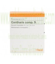 CANTHARIS COMPUESTO S 5 AMPOLLAS 2,2 ML