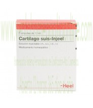 CARTILAGO SUIS INJEEL 5 AMPOLLAS 1,1 ML