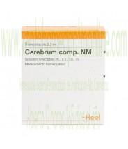 CEREBRUM COMPUESTO NM 5 AMPOLLAS 2,2 ML