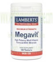 LAMBERTS Megavit® 120 TABLETAS