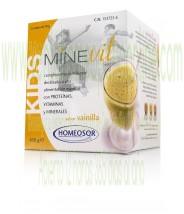 MINEVIT KIDS VAINILLA 15 SOBRES DE 30 G