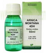 ARNICA MONTANA 4DH GOTAS 60ML