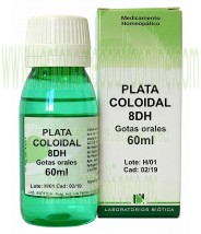 PLATA COLOIDAL 8DH GOTAS 60ML