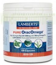LAMBERTS OracOmega® Puro  120 CAPSULAS