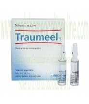 TRAUMEEL S 5 AMPOLLAS 2,2 ML
